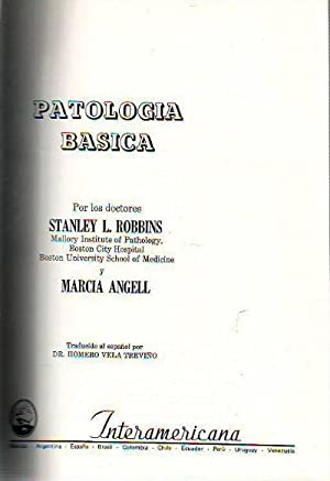 PATOLOGIA BASICA.: ROBBINS, Stanley L.