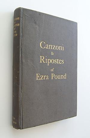Canzoni & Ripostes of Ezra Pound [first: Pound, Ezra