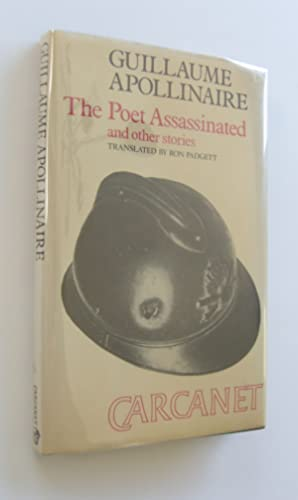 The Poet Assassinated and other Stories [signed: Apollinaire, Guillaume; Ron