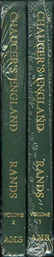 Chaucer's England (two volume set)
