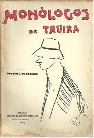 MONOLOGOS DE TAVIRA.