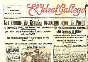 EL IDEAL GALLEGO. AÑO XX. N. 5133. 31-JULIO-1936.: PERIODICO.