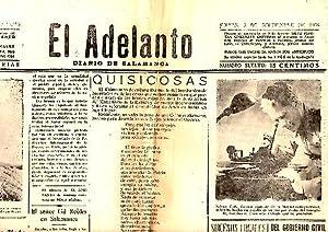 EL ADELANTO. DIARIO DE SALAMANCA. AÑO 52. N. 16058. 3-SEPTIEMBRE-1936.: PERIODICO.