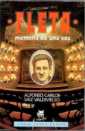 MIGUEL FLETA. MEMORIA DE UNA VOZ.: SAIZ VALDIVIELSO, Alfonso