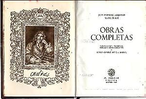 OBRAS COMPLETAS.: MOLIERE.
