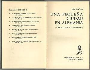 UNA PEQUEÑA CIUDAD EN ALEMANIA.: LE CARRE, John.