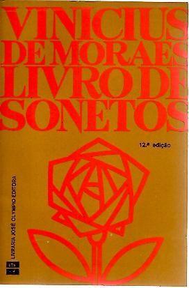LIVRO DE SONETOS.: MORAES, Vinicius de.
