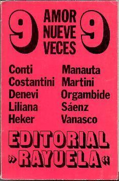 EL AMOR NUEVE VECES.: AA.VV.