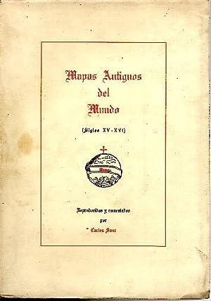 MAPAS ANTIGUOS DEL MUNDO. (SIGLOS XV-XVI).: ANONIMO.