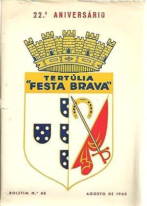 TERTULIA FESTA BRAVA. NUM. 48. AGOSTO 1968. 22 ANIVERSARIO.: REVISTA.