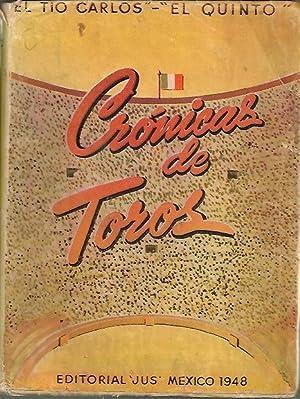 CRONICAS DE TOROS.: SEPTIEN GARCIA, Carlos (El tío Carlos, El quinto).
