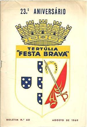 TERTULIA FESTA BRAVA. NUM. 60. AGOSTO 1969.: REVISTA.