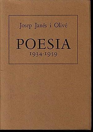 POESIA (1934-1959).: JANES I OLIVE,