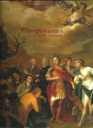 CAMPOMANES Y SU TIEMPO.: CATALOGO.