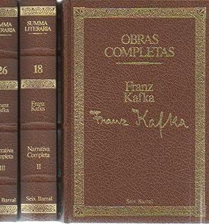 OBRAS COMPLETAS.: KAFKA, Franz.