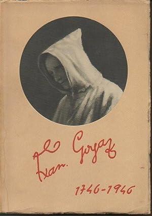 GOYA 1746-1946. PINTURAS Y DIBUJOS COLECCIONADOS POR: LOPEZ, V. ALENZA,