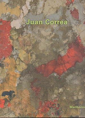 JUAN CORREA. TAPICES DE ARENA. MARLBOROUGH MADRID.: CATALOGO.
