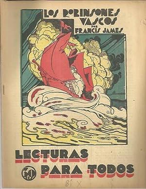 LOS ROBINSONES VASCOS.: JAMMES, Francis.