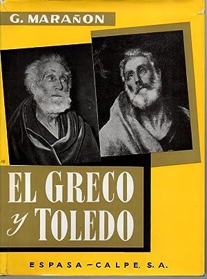 EL GRECO Y TOLEDO.: MARAÑON, Gregorio.