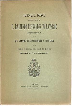 LA CUESTION SOCIAL Y EL DERECHO CIVIL.: FERNANDEZ VILLAVERDE, Raimundo.