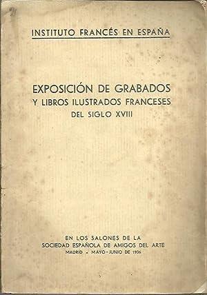 EXPOSICION DE GRABADOS Y LIBROS ILUSTRADOS FRANCESES: CATALOGO.