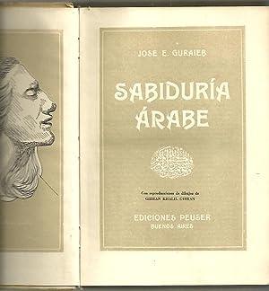 SABIDURIA ARABE.: GURAIEB, José E.