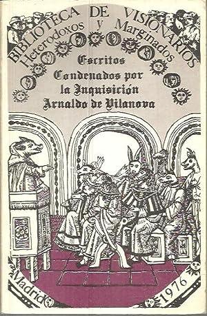 arnaldo de vilanova - escritos condenados por la inquisicion ...