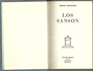 LOS SANSON.: CHIRISTOPHE, Robert.