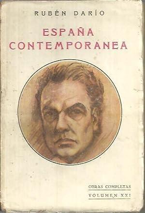 ESPAÑA CONTEMPORANEA.: DARIO, Rubén.