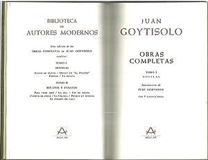 OBRAS COMPLETAS. I. NOVELAS. II. RELATOS Y: GOYTISOLO, Juan.