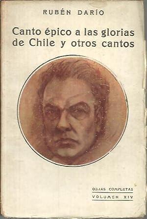 OBRAS COMPLETAS VOL. XIV. CANTO EPICO A: DARIO, Rubén.