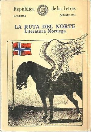REPUBLICA DE LAS LETRAS. LA RUTA DEL NORTE. LITERATURA NORUEGA. N. 5 EXTRA.: REVISTA.
