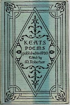 POEMS PUBLISHED IN 1820.: KEATS.