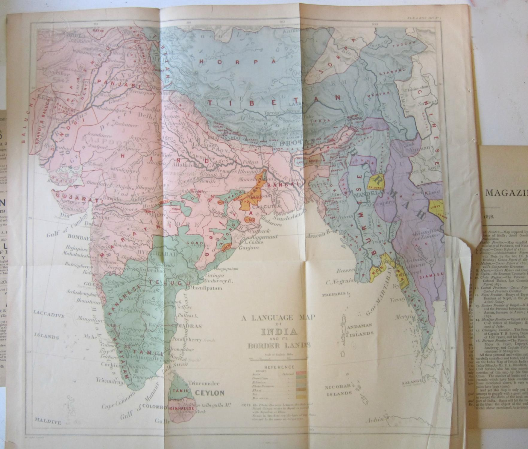 Maps Language Map Of The East Indies I British India And The