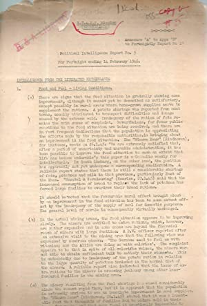 S.H.A.E.F. Mission (Netherlands) Political Intelligence Report No. 5. (For Fortnight ending 14 ...