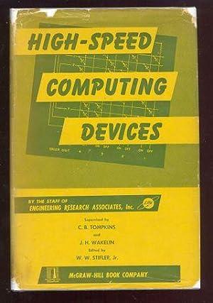 High-Speed Computing Devices.: Tompkins, C.B.
