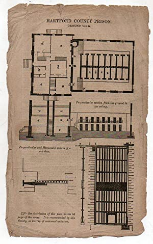 Description of the New County Prison, Hartford, Conn
