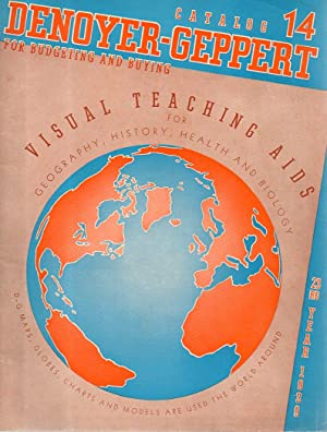 Denoyer-Geppert Visual Teaching Aids for Geography, History, Health, and Biology, Maps, Globes, C...