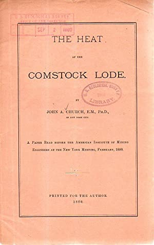 THe Heat of the Comstock Lode: John A. Church