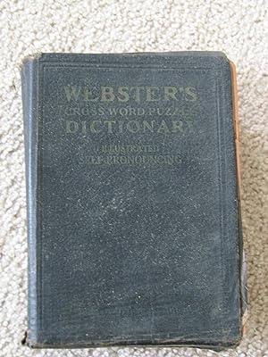 Webster's Crossword Puzzle Dictionary: Arrowsmith, Robert