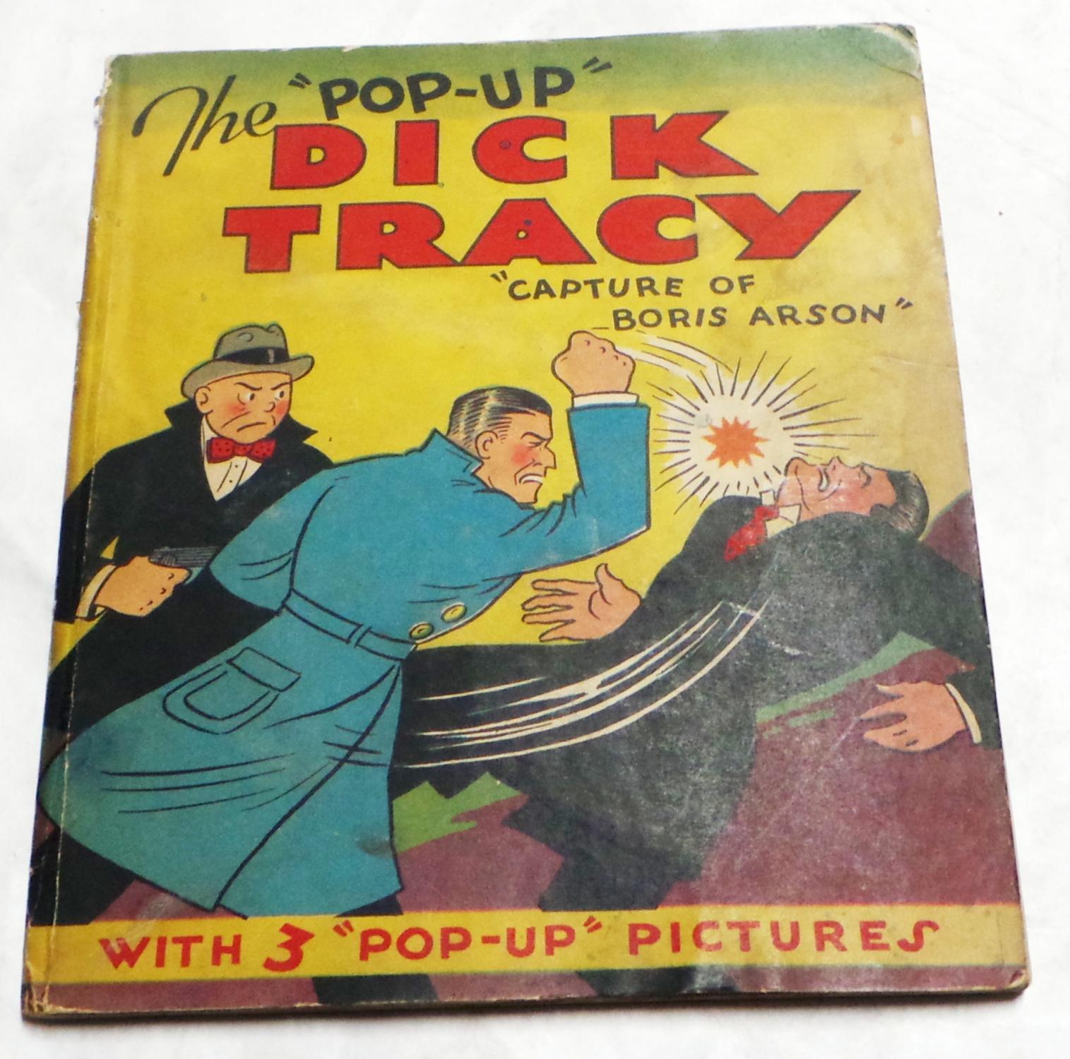 show Dick tracy art