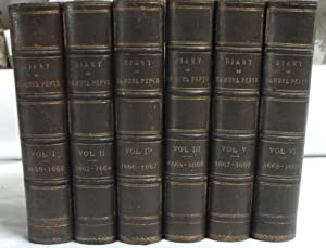 Diary and Correspondence of Samuel Pepys. [6 Volumes. Complete]