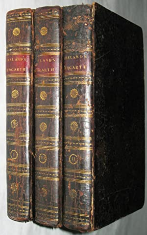 Hogarth Illustrated by John Ireland (3 Volume Set COMPLETE)