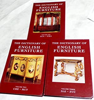 The Dictionary of English Furniture (3 volumes): Ralph Edwards