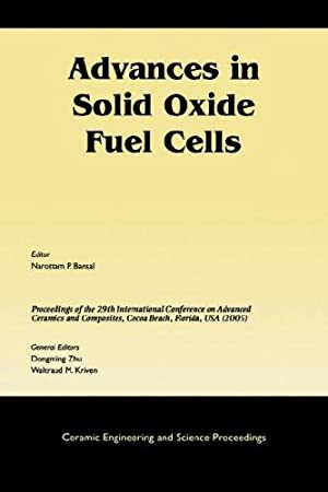 Advances in Solid Oxide Fuel Cells.; Collection of Papers Presented at the 29th International ...