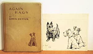 Again Rags With Original Drawing: Lewis Dutton