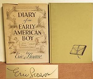 Diary of an Early American Boy: Eric Sloane