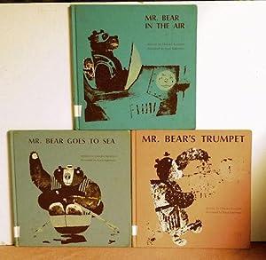 Mr. Bear In The Air, Mr. Bear's Trumpet, & Mr. Bear Goes To Sea: ChiZuko Kuratomi
