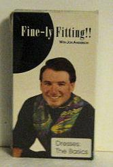 Fine-Ly Fitting! ! With Jon Anderson, Dresses: the Basics VHS: Jon Anderson