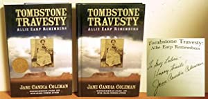 Tombstone Travesty, Allie Earp Remembers: Jane Candia Coleman